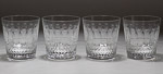 """St. Louis Crystal """"Tommy"""" Tumbler Glasses"""