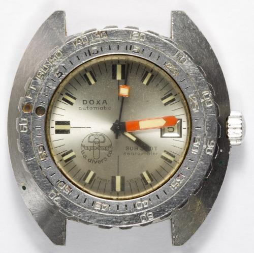 "Doxa Automatic Sub 300T ""Searambler"" Wrist Watch"