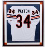 Walter Payton Autographed 1985 Super Bowl XX Framed Jersey