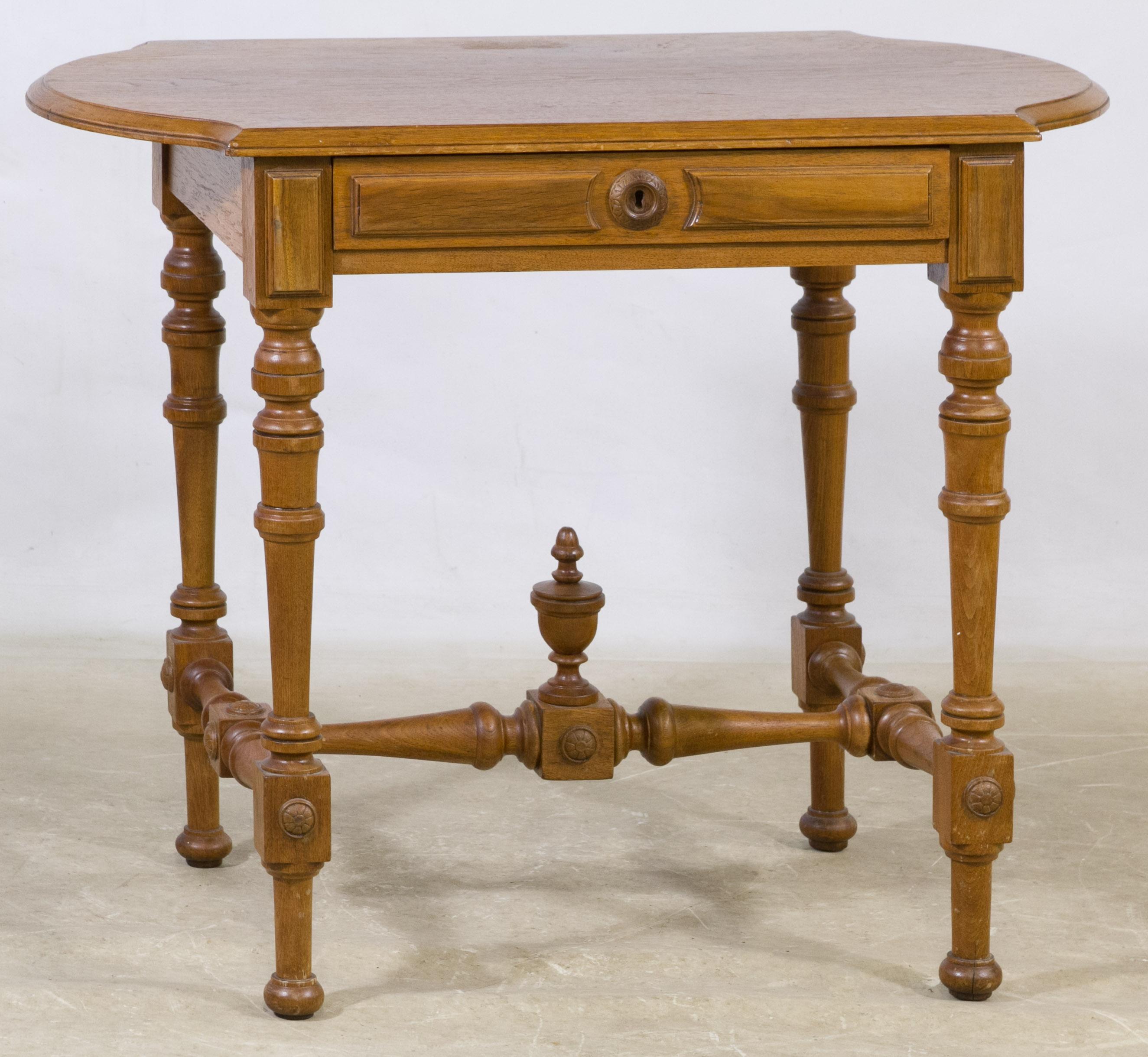 Foyer Table Oak : Victorian oak foyer table leonard auction