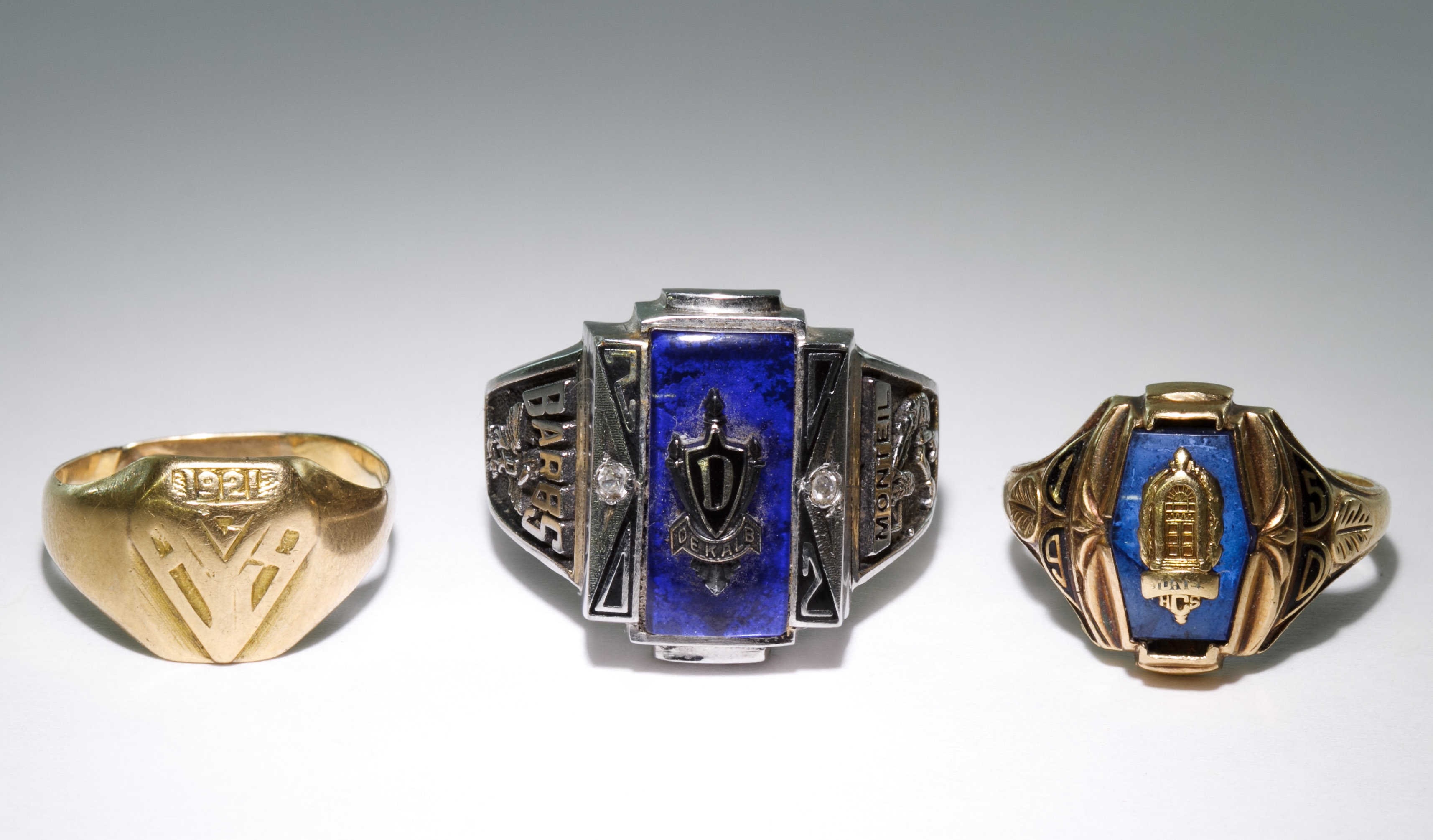14k and 10k gold class rings leonard auction
