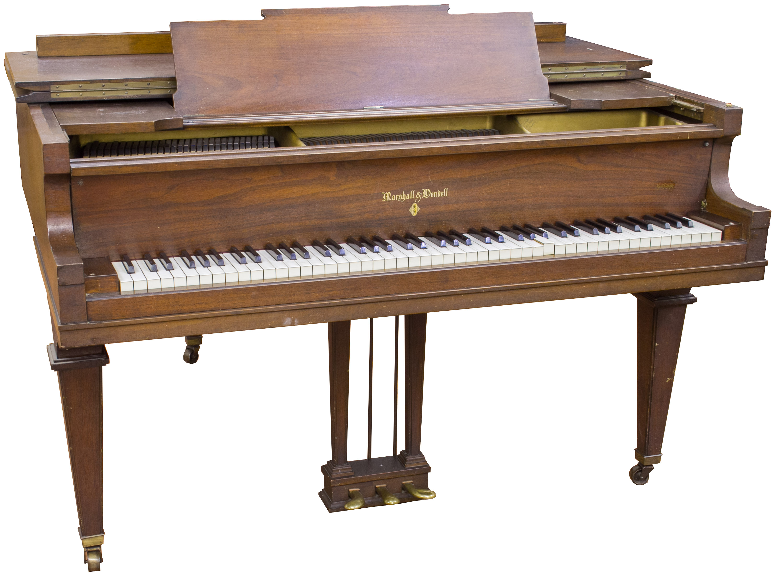 Marshal Wendell Baby Grand Piano Leonard Auction