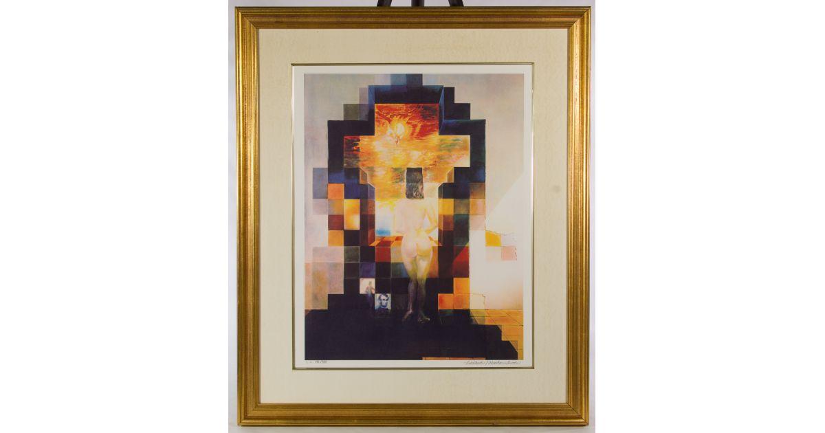 Salvador Dali (Spanish 1904-1989) Lithograph nude | Kodner