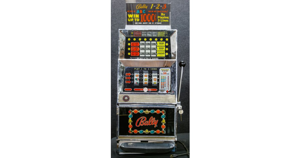 Ballys slot machines for sale