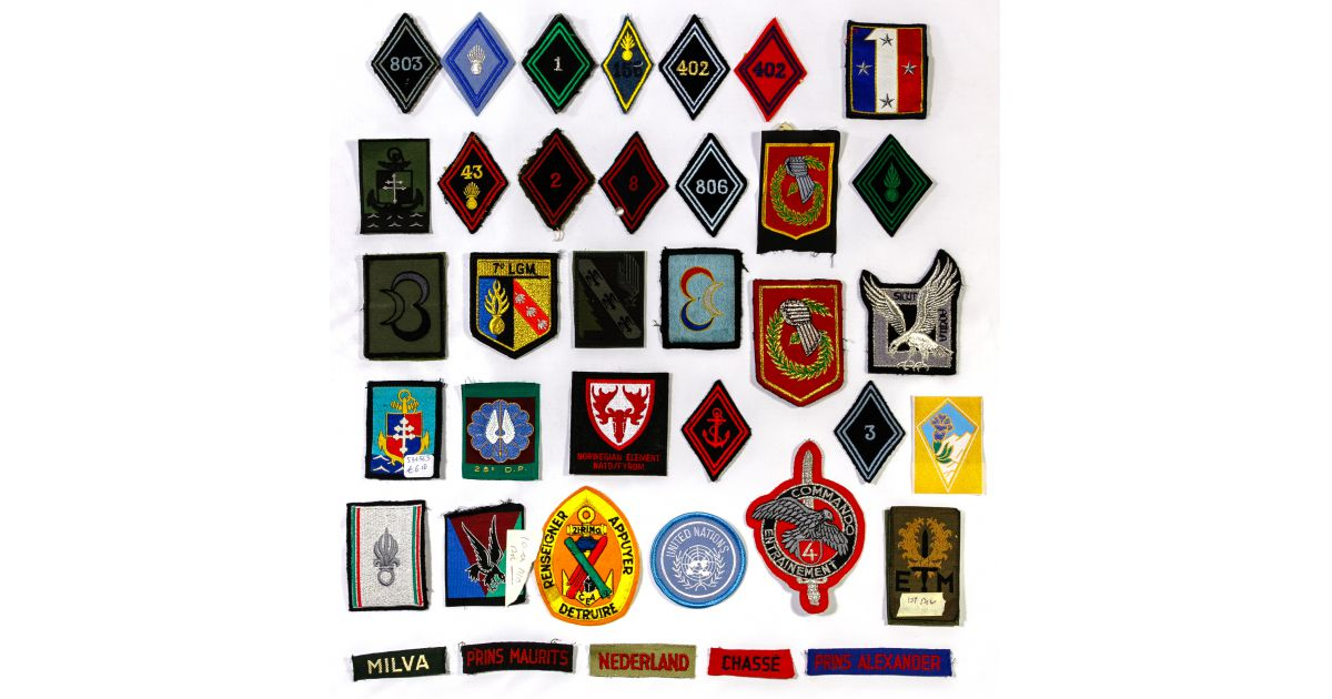 USA Abzeichen Patch 36th Engineer Group Pioniere multi klett A1-17