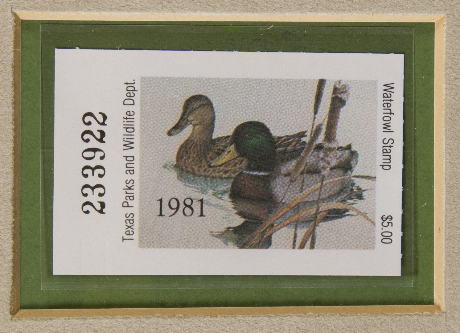 Lot 291 Larry Hayden American 20th Century Quot Texas Duck