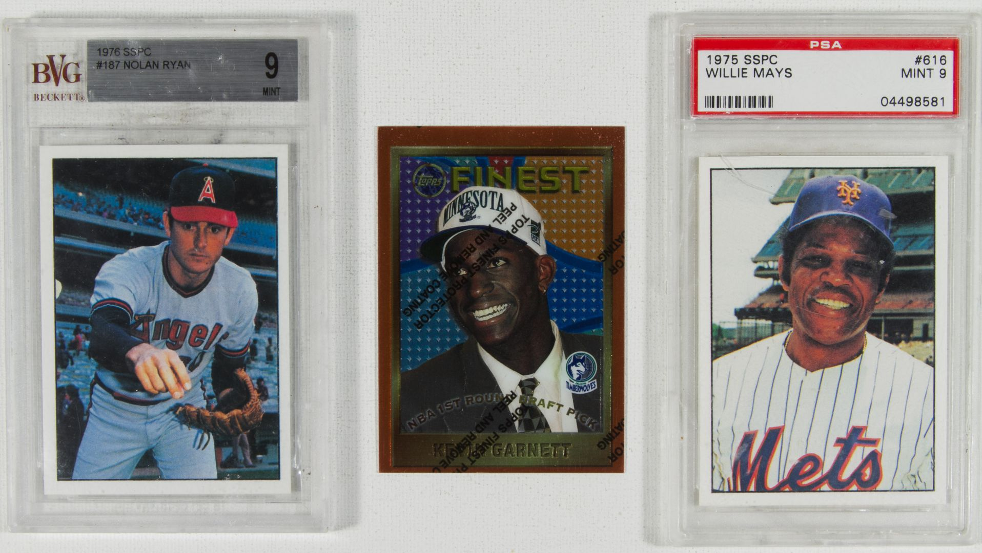 Lot 294 Graded Baseball Cards Leonard Auction Sale 160