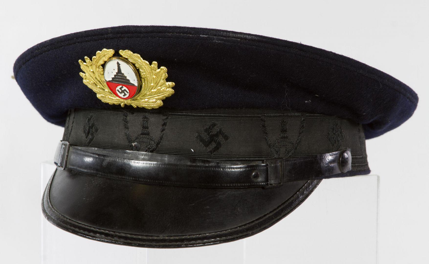 3a60a107ed7 Lot 545  World War II German Veterans Administrator Cap