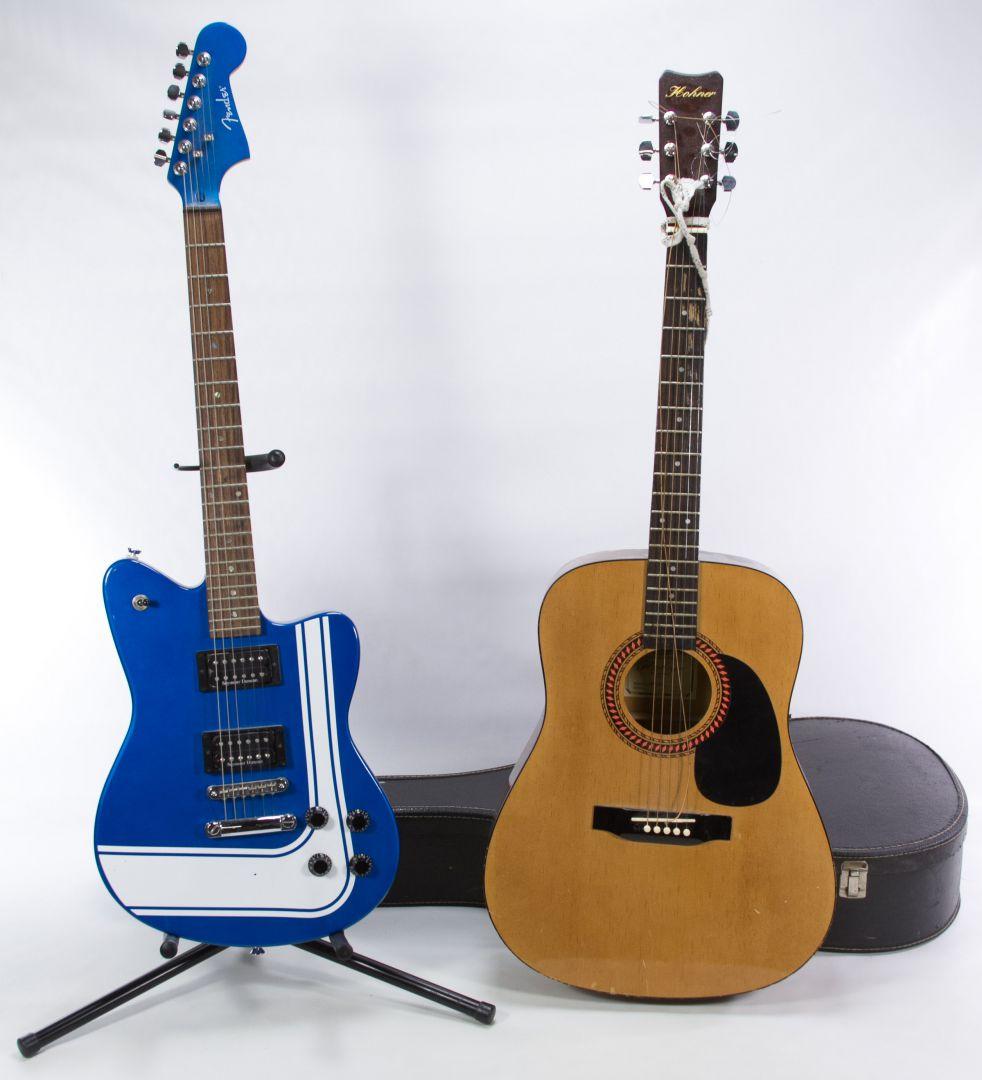 lot 485 electric and acoustic guitars leonard auction sale 210. Black Bedroom Furniture Sets. Home Design Ideas