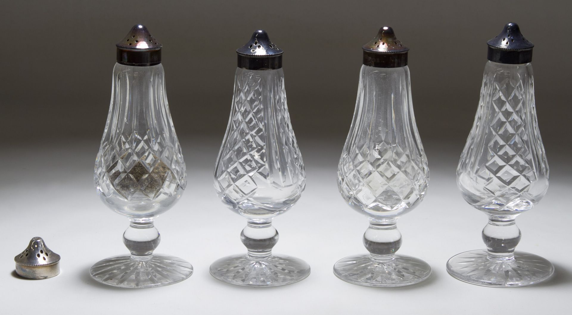 Lot 388 Waterford Crystal Salt And Pepper Shakers Leonard Auction