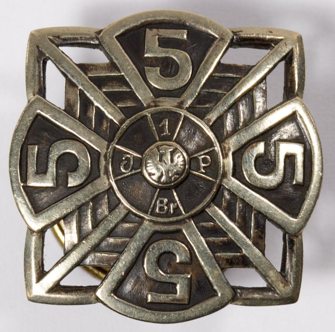 Lot 523: World War II Polish 5th Infantry Badge | Leonard