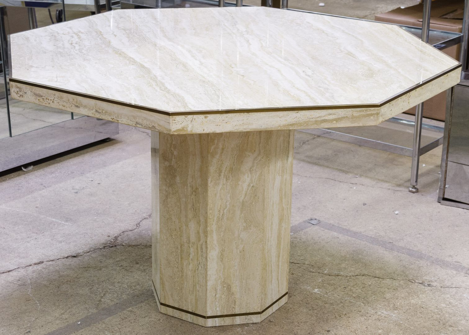 Mid Century Modern Table By Stone International For Ello Furniture