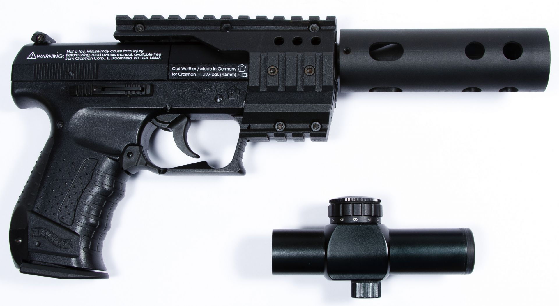 lot 278 walther nighthawk 177 cal pellet pistol serial rh leonardauction com Walther PK380 Magazine Walther PK380 Manual