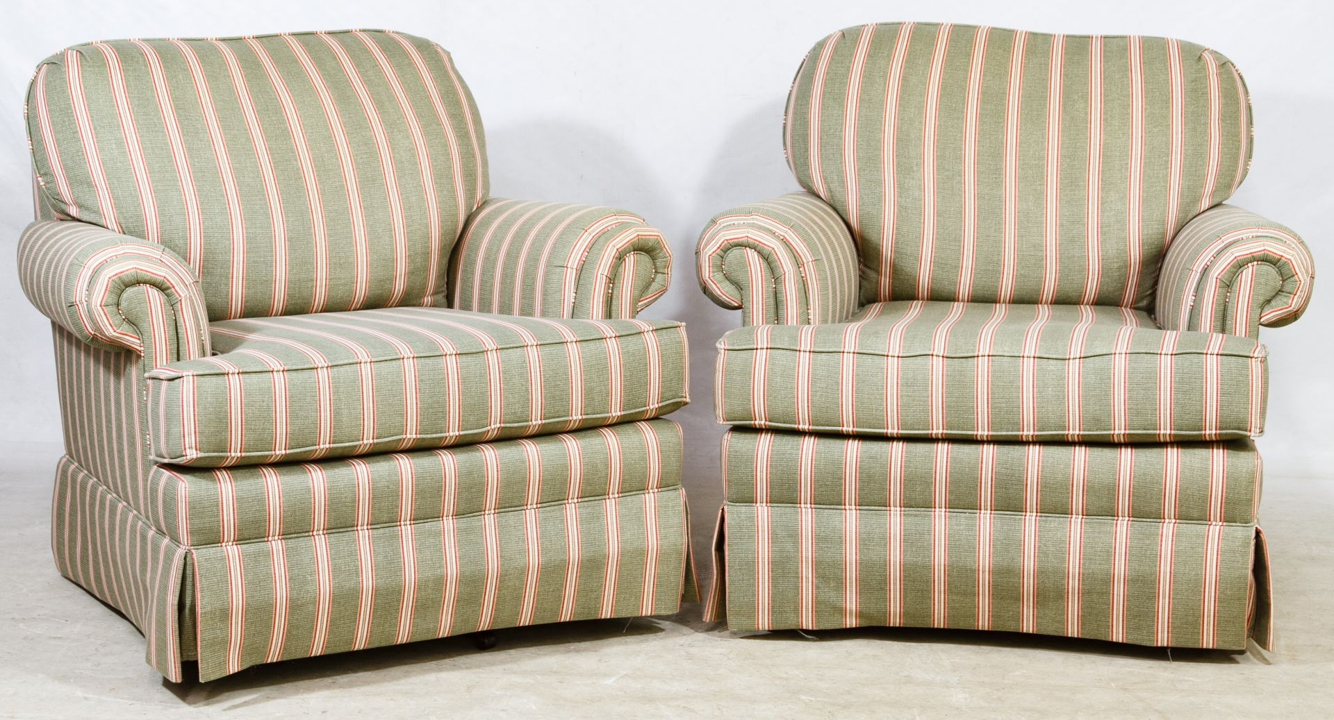 Lot 84 Upholstered Swivel Rockers By Norwalk Furniture Leonard Auction Sale 228