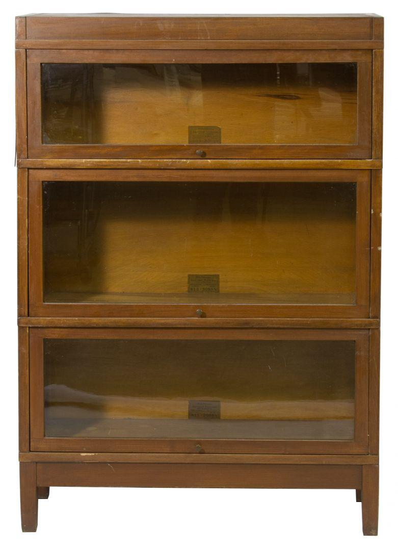 Lot 113 Mission Oak Barrister Bookcase By Globe Wernicke
