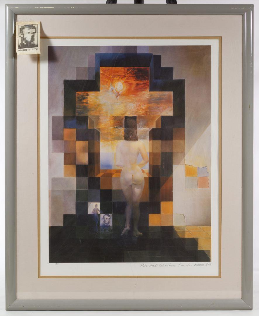 Lot 256: Salvador Dali (Spanish, 1904-1989) Gala Nude
