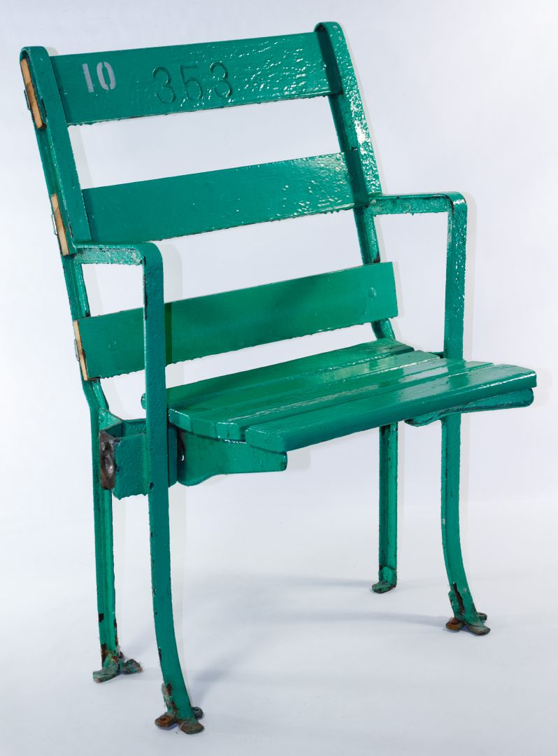 Remarkable Lot 375 Old Comiskey Park Stadium Seat Leonard Auction Onthecornerstone Fun Painted Chair Ideas Images Onthecornerstoneorg