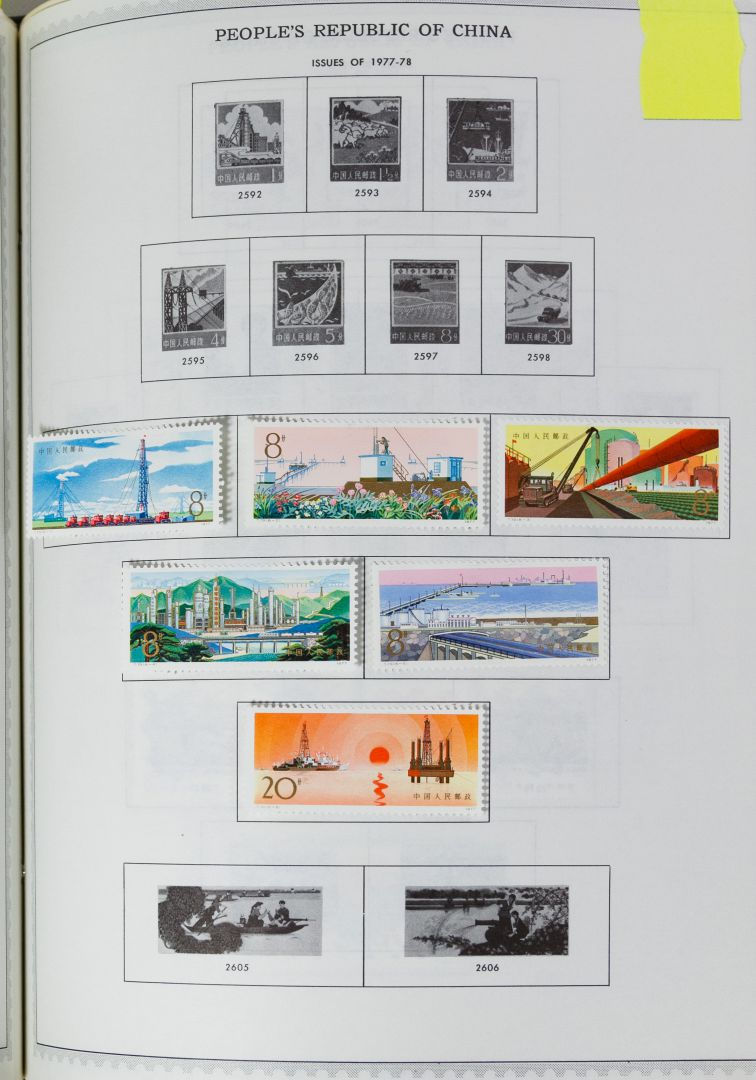 Lot 58: Minkus Global Stamp Album Assortment | Leonard
