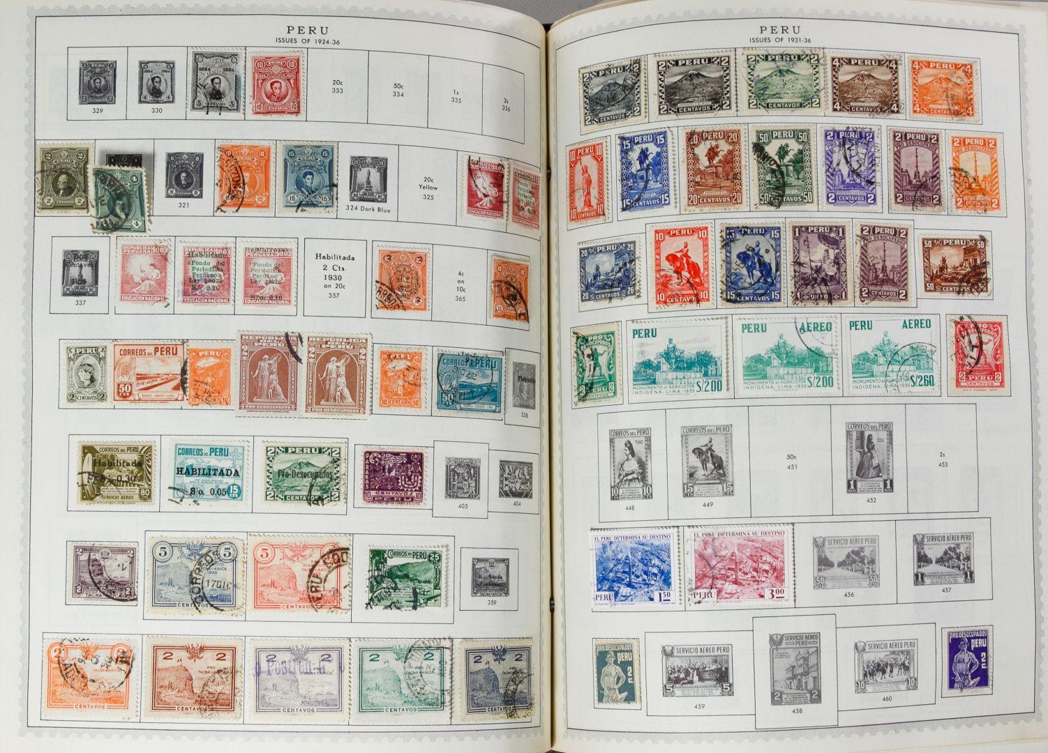 Lot 58: Minkus Global Stamp Album Assortment | Leonard