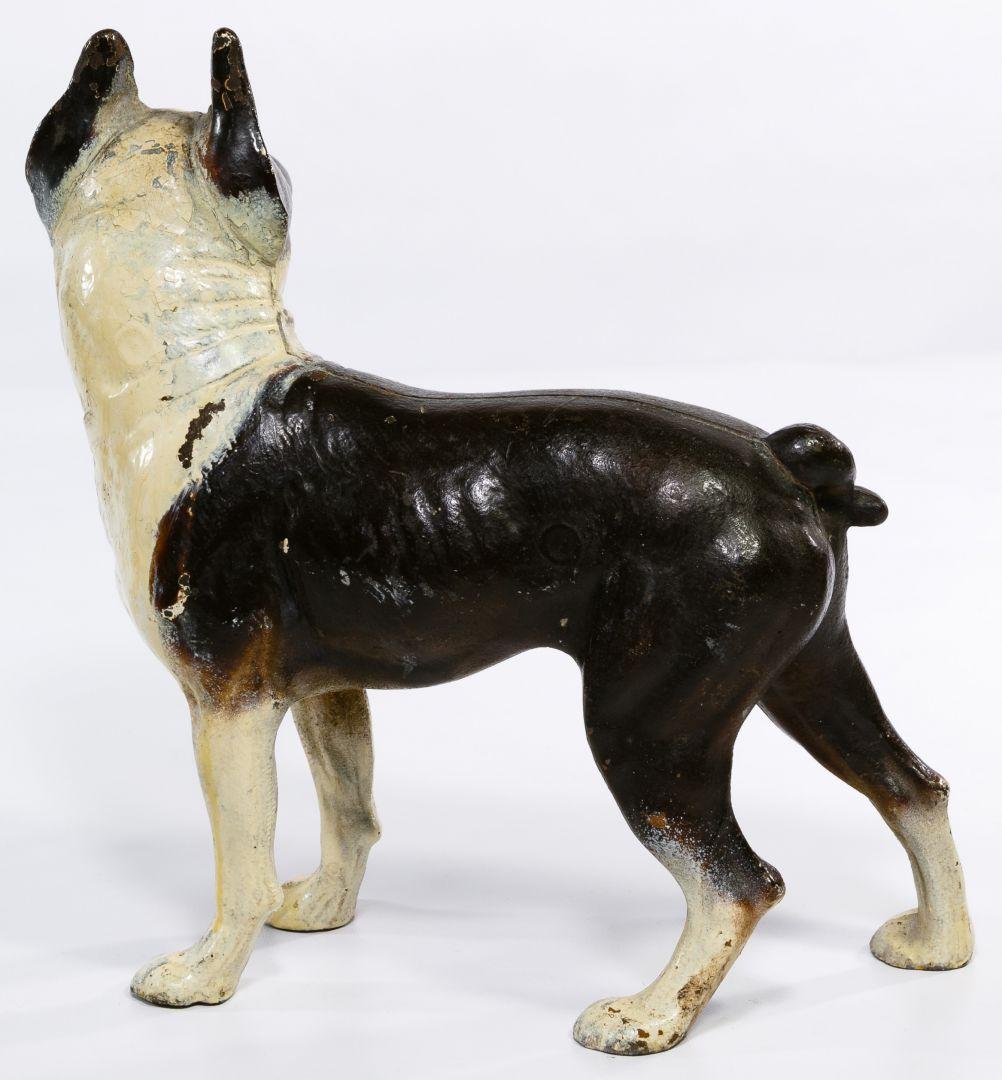 Lot 660 Cast Iron Boston Terrier Door Stop Leonard Auction Sale 242