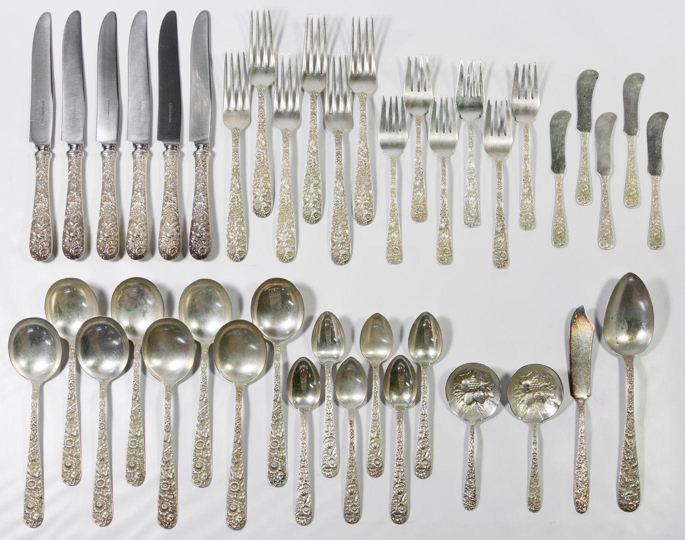 Stieff Rose Teaspoon Sterling Silver Flatware