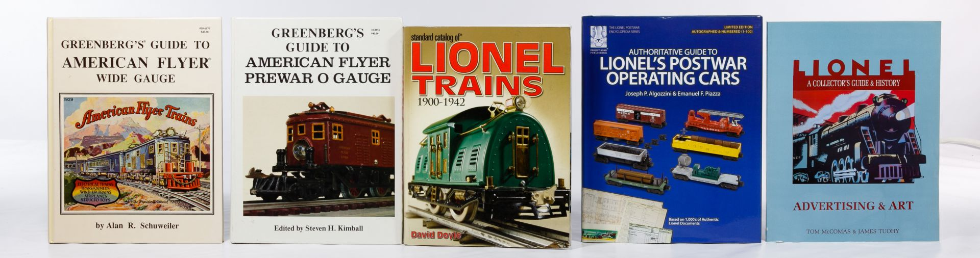 Lot 379: Model Train Reference Book Assortment | Leonard Auction