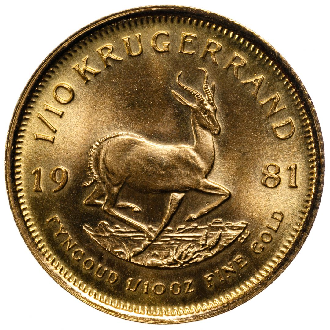 Lot 72 South Africa 1981 Gold Krugerrand Leonard