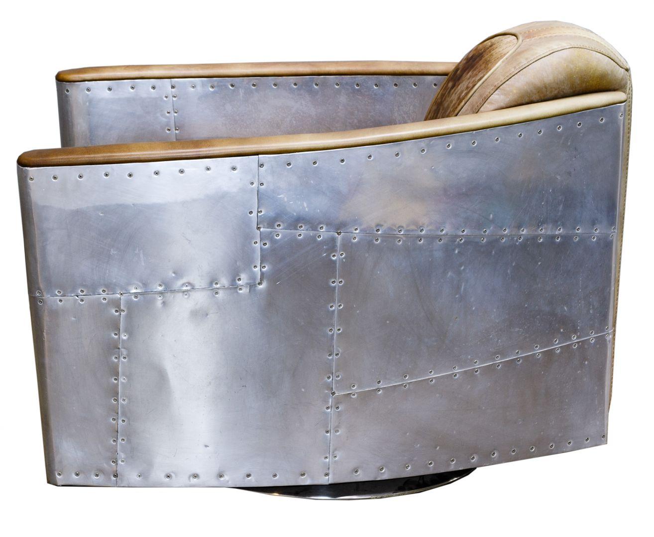 Astonishing Lot 92 Restoration Hardware Aviator Leather Chair Short Links Chair Design For Home Short Linksinfo