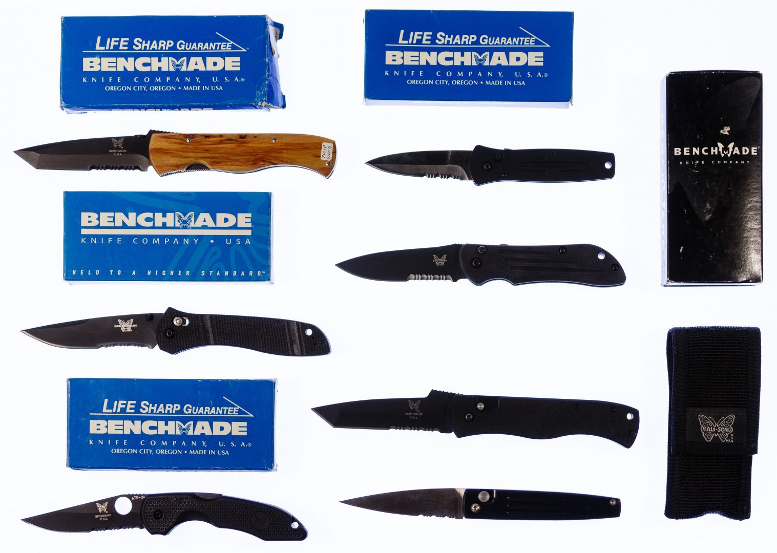 Lot 301: Benchmade Knife Assortment | Leonard Auction Sale #255