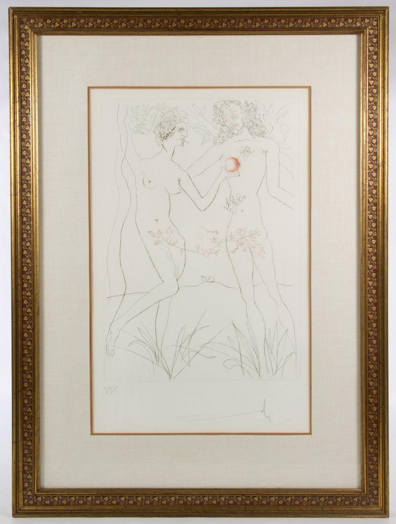 Salvador Dali, (Spanish, 1904-1989), Nude Ascending the