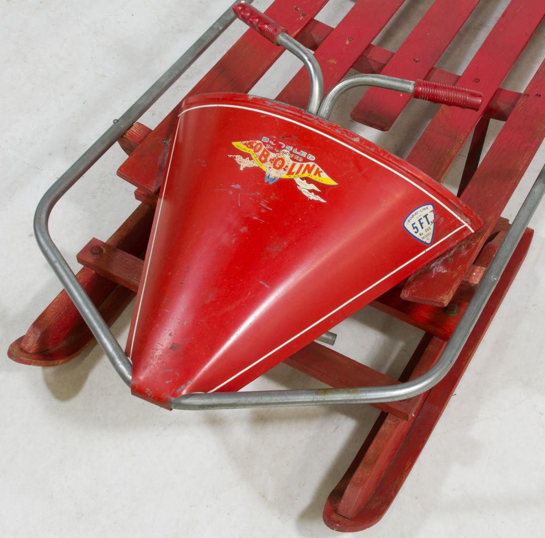 Lot 156 Bob O Link Bobsled Type Sled Leonard Auction