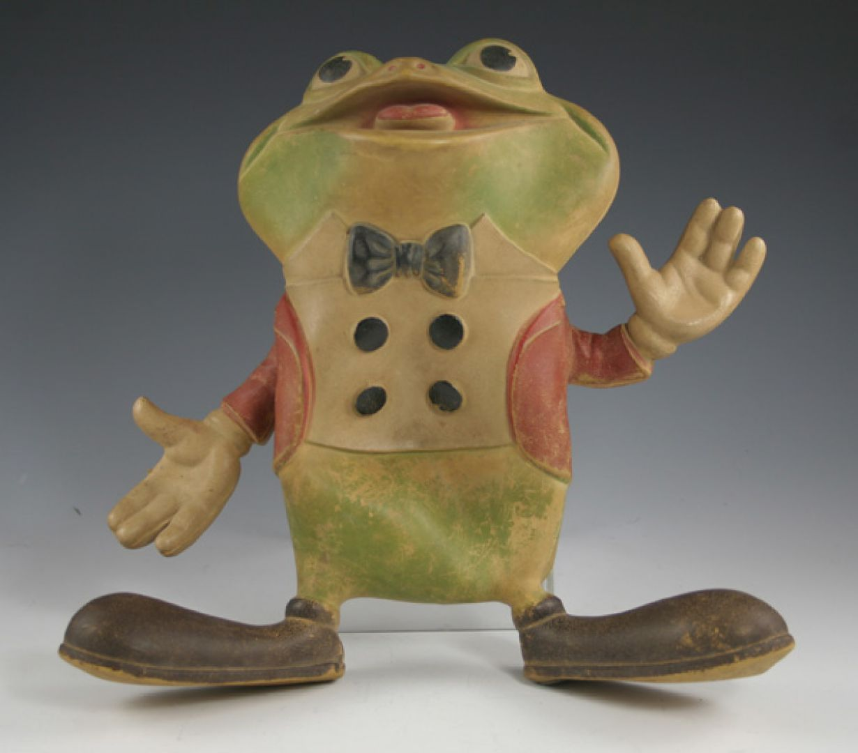 Lot 502: Rempel Rubber Toy Frog | Leonard Auction Sale #67