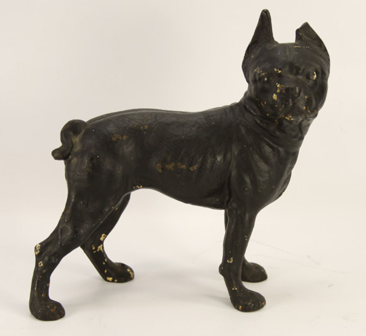 Lot 5011 Black Cast Iron Boxer Dog Door Stop Leonard Auction Sale 84