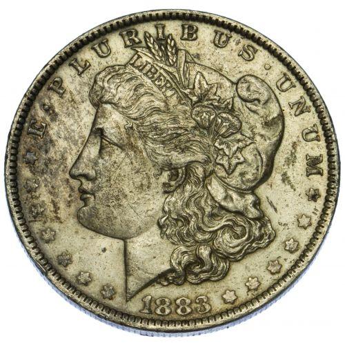 1883-O $1 AU Details