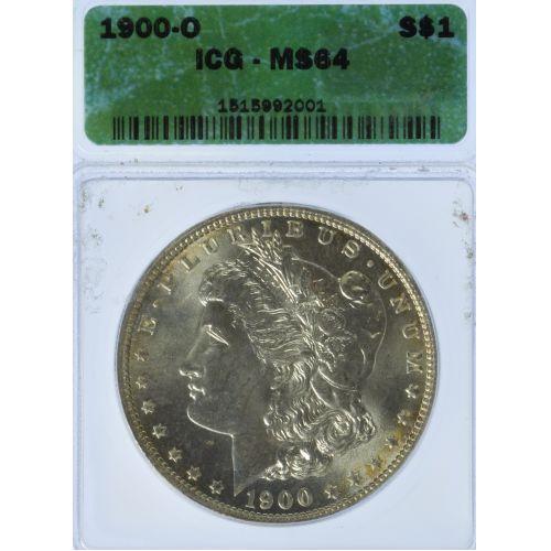 1900-O $1 MS-64 ICG