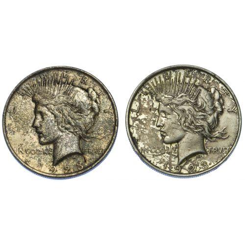 1923 $1 VF