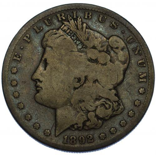 1892-S $1 VG