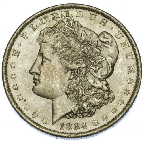 1884-O $1 MS-62