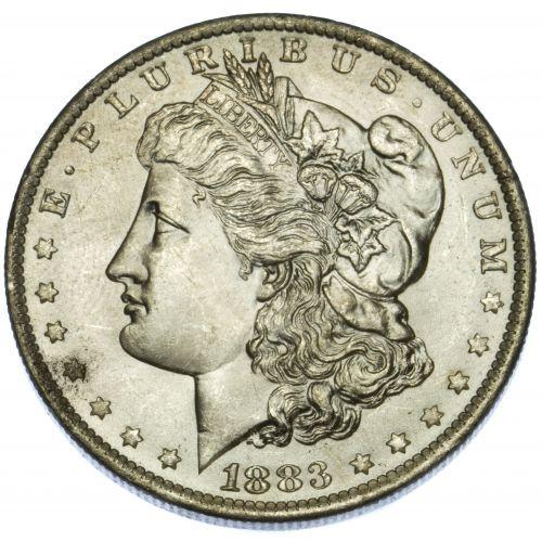 1883-O $1 MS-63