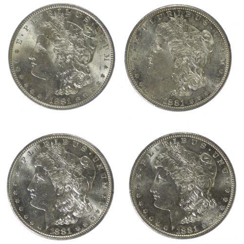 1881, 1881-S $1
