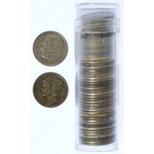 $5.00 Face Silver 10c