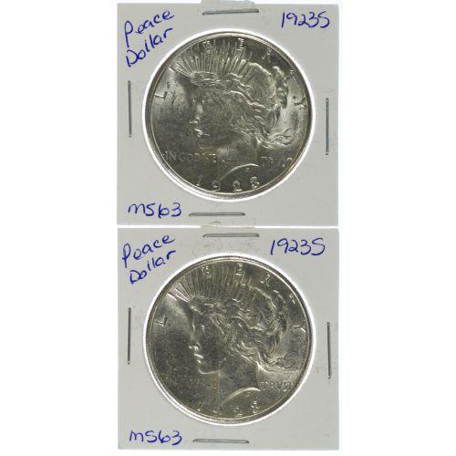1923-S $1 MS-61 / AU