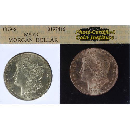 1879-S $1 MS-62
