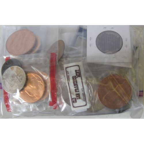 Assorted Casino Tokens & Chips