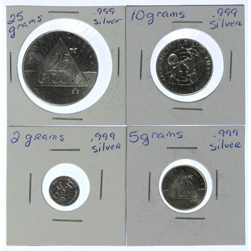 42 grams of Fine Silver