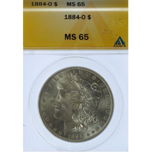 1884-O $1 MS-65 ANACS