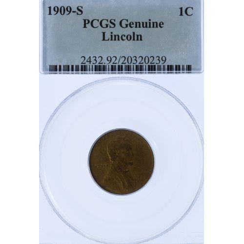 1909-S 1c PCGS