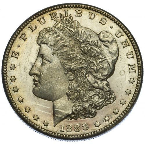 1888-S $1 MS-63 Details