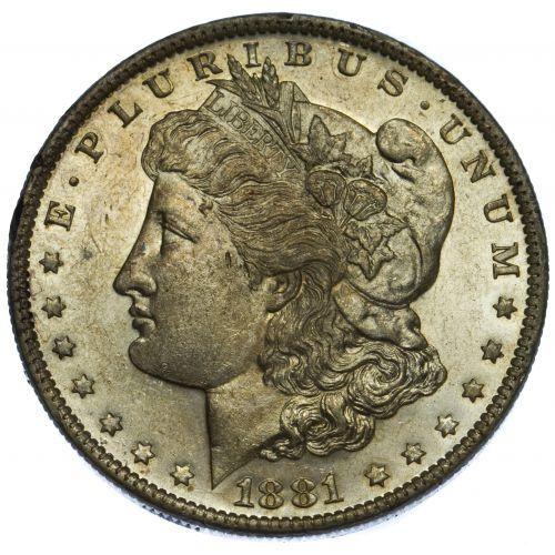 1881-O $1 MS Details
