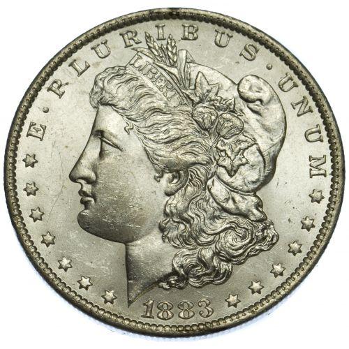 1883-O $1 MS-62